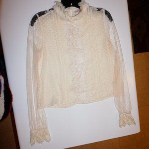 Willow & Root Sheer Blouse